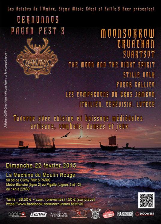 FRA, Paris - Cernunnos Pagan Fest 8 - Metal Storm