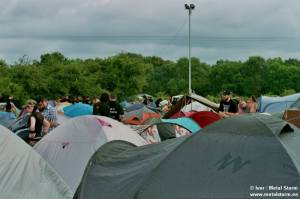Photos of People and the Festival - Camping