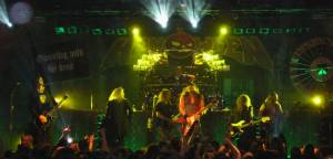 Helloween - Helloween and Gamma Ray sharing the same stage