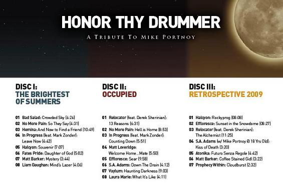 Mike Portnoy Tribute Album - Free Download Available - Metal