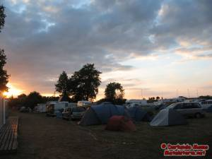 Festival Grounds - Sunday's sunday on the press camping grounds