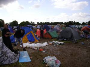 General - Devastated Camping Site