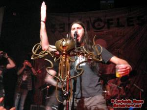 Bonus! - Svart Crown's JB on stage with Septicflesh