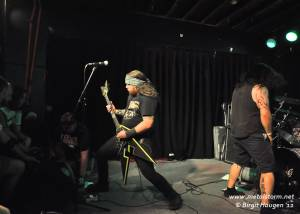 Municipal Waste at the Marquis Theater in Denver, CO - June 2012