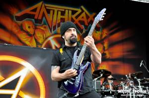 Anthrax - Anthrax at Rockstar Mayhem Festival 2012