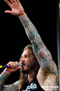 As I Lay Dying - AILD at Rockstar Mayhem Festival 2012