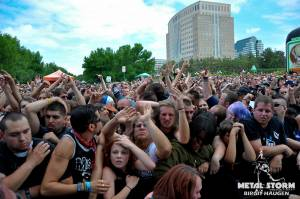 AILD at Rockstar Mayhem Festival 2012 - Crowd was insane !!!