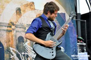 Upon A Burning Body at Rockstar Mayhem Festival 2012