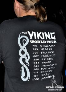 (no title) - awesome shirt at Korpiklaani in Denver, CO