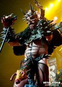 Gwar - Gwar on Halloween in Denver, CO