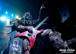 Gwar on Halloween in Denver, CO