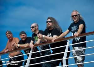 Impressions/Fans Barge To Hell 2012 - Holy Moses and Sodom watching Morgoth Barge To Hell 2012