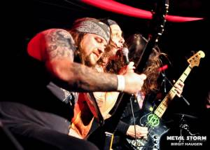 Municipal Waste - Municipal Waste Barge To Hell 2012- Spectrum Lounge