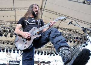 Rotting Christ - Pool Deck - Barge To Hell 2012