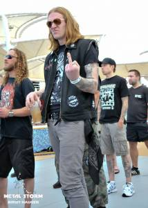 Impressions/Fans Barge To Hell 2012 - Barge To Hell 2012 - Blake from Nachtmystium