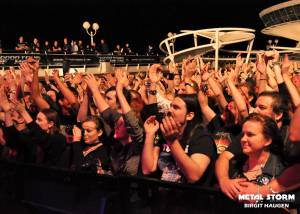 Turisas - Turisas at 70000 Tons Of Metal Cruise 2013 - Pool Deck Stage