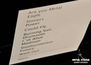 Helloween - Set list