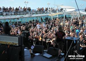 Onslaught - Onslaught at 70000 Tons Of Metal 2013