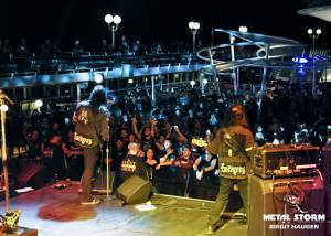 Evergrey at 70000 Tons Of Metal 2013