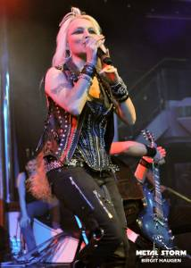 Doro at 70000 Tons Of Metal 2013 - Chorus Line Theater