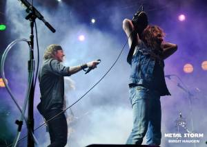 Gotthard at 70000 Tons Of Metal 2013