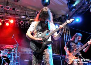 Angra on 70000 Tons Of Metal 2013 - Pool Deck Stage