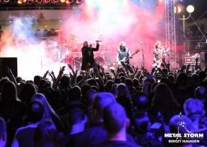 Helloween at 70000 Tons Of Metal 2013 - Pool Deck Stage