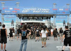 Nightmare - Nightmare on 70000 Tons Of Metal 2013 - Pool Deck