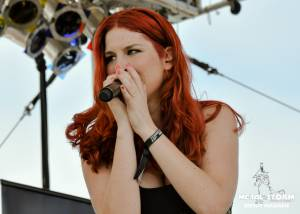 Delain on 70000 Tons Of Metal 2013