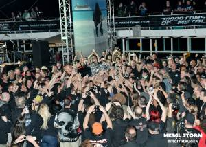 Sabaton - Sabaton on 70000 Tons Of Metal 2013 - Pool Deck Stage