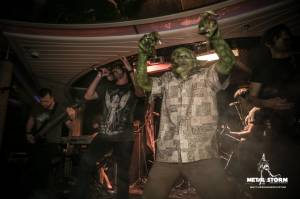Nekrogoblikon - Nekrogoblikon on 70000 Tons Of Metal 2014