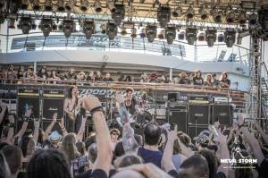 The Church Of Pungent Stench on 70000 Tons Of Metal 2014 - Pool Deck Stage