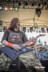 The Haunted on 70000 Tons Of Metal 2014