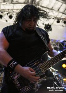 Fear Factory on 70000 Tons Of Metal 2014