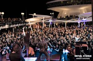 Satyricon - Satyricon on 70000 Tons Of Metal 2014 - Pool Deck Stage