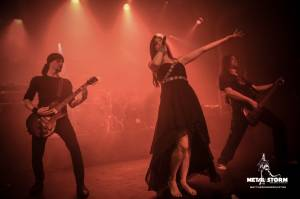 Xandria on 70000 Tons Of Metal 2014