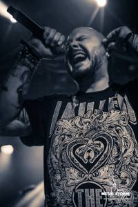 Soilwork on 70000 Tons Of Metal 2014 - Chorus Line Theatre