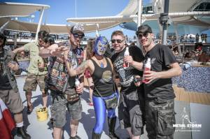 Cruise Impressions - 70000 Tons Of Metal 2014 - Impressions - costumes