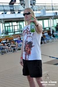 Cruise Impressions - 70000 Tons Of Metal 2014 - Impressions - Robin from KoK
