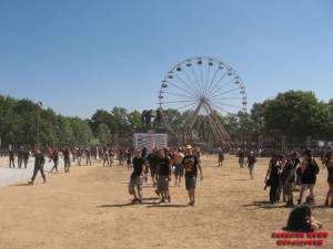 The Fest - Fest Grounds on Friday morning