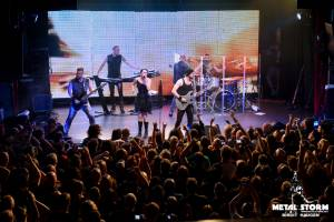 Within Temptation at the Gothic Theatre in Englewood, CO September 2014