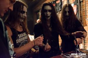 Carach Angren - Summit Music Hall, Denver, CO - October 2014 - Meet 'n Greet