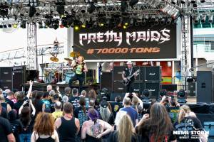 Pretty Maids - 70000 Tons Of Metal 2015