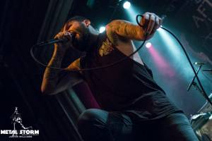 After the Burial at Summer Slaughter Tour 2016 San Francisco, CA