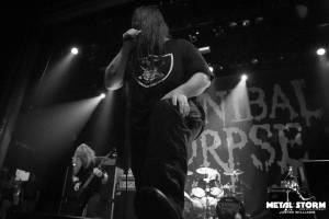 Cannibal Corpse at Summer Slaughter Tour 2016 San Francisco, CA